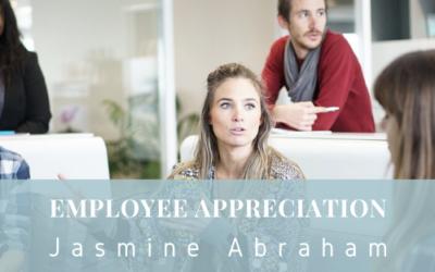 Employee Appreciation   Jasmine Abraham