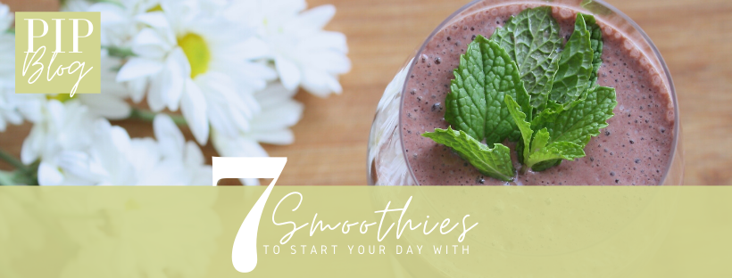 7 Smoothies to Start Your Day With